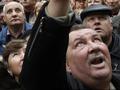 Янукович, выходи. Чернобыльцы пикетировали заседание Кабмина с участием Президента