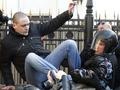 Задержать и отпустить. Московская полиция разогнала митинг на Новом Арбате