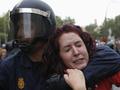 Штурм испанского конгресса. Ожесточенные столкновения в центре Мадрида