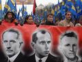 Юбилей УПА. Торжественный марш ВО Свобода в центре Киева