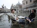 Высокая вода. Осеннее наводнение в Венеции