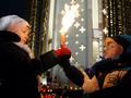День памяти жертв Голодомора. Акция у киевского Мемориала