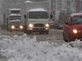 Стой, снег идет! Интенсивный снегопад парализовал движение в Москве