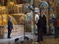 Стоп, снято. Янукович записал телеобращение в Лавре