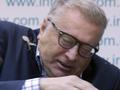 Киевский капустник. Фоторепортаж со скандальной пресс-конференции Жириновского