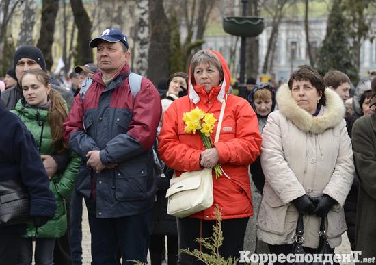Вставай, Украина! Митинг оппозиции в день освобождения Луценко