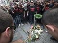 Вспышка ненависти. Тысячи французов почтили память убитого студента