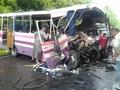 Авария на Волыни. Восемь человек погибли в лобовом столкновении двух автобусов