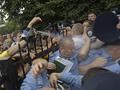 Как это было. Жители Киева штурмовали Святошинское РОВД