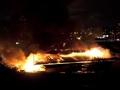 Оболонь в огне. Масштабный пожар на киевском рынке