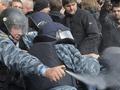 Осеннее обострение. Потасовки с милицией под зданием Киевсовета