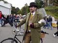 Осенний Tweed Run. В Киеве прошел велопробег в ретро-стиле
