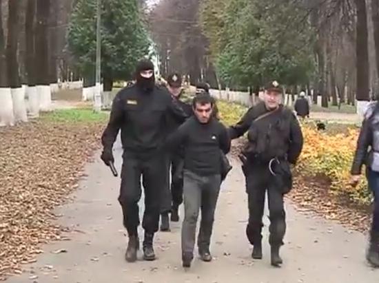 Бирюлевский убийца. Кадры оперативной съемки задержания Орхана Зейналова