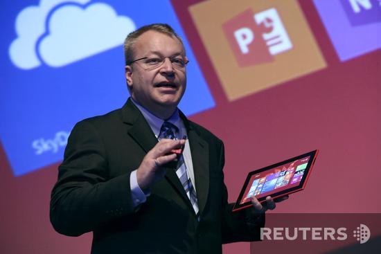 Стивен Элоп представляет планшет Lumia 2520