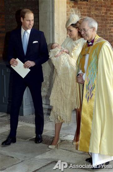Королевское крещение. В Лондоне крестили принца Джорджа