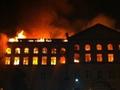 Вуз в огне. Масштабный пожар в киевском Аграрном университете