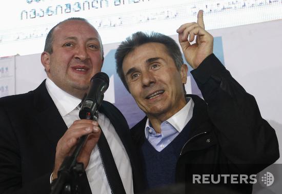 Георгий Маргвелашвили и Бидзина Иванишвили
