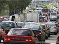 Киев страдает от заторов на дорогах
