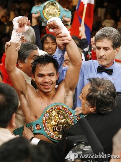 Мэнни Пакьяо. Фото-галерея победы